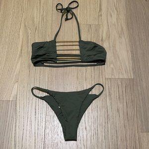 Gold detailed Bikini